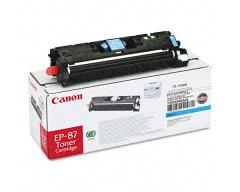 Toner do tiskárny Originálný toner CANON EP-87 C (Azúrový)