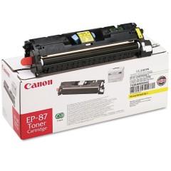 Toner do tiskárny Originálný toner CANON EP-87 Y (Žltý)