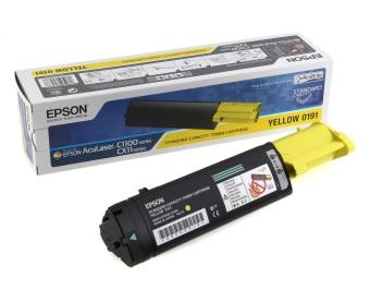 Originálny toner EPSON C13S050191 (Žltý)