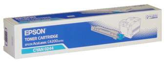 Originálný toner Epson C13S050244 (Azúrový)