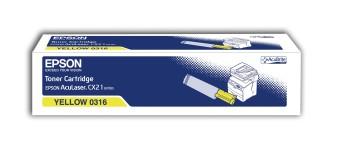 Originálny toner EPSON C13S050316 (Žltý)
