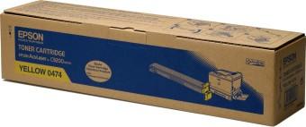 Originálny toner EPSON C13S050474 (Žltý)