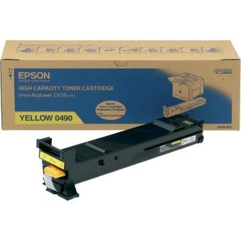 Originálny toner EPSON C13S050490 (Žltý)