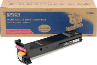 Originálny toner EPSON C13S050491 (Purpurový)