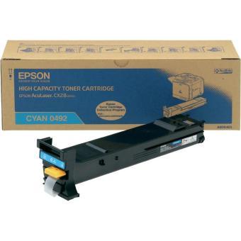 Originálny toner EPSON C13S050492 (Azúrový)
