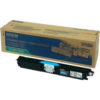 Originálny toner EPSON C13S050560 (Azúrový)