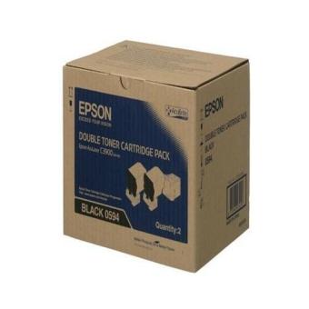 Originálny toner EPSON C13S050594 (Čierny) multipack