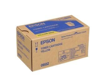 Originálny toner EPSON C13S050602 (Žltý)