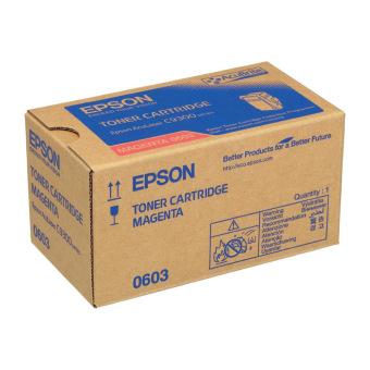 Originálny toner EPSON C13S050603 (Purpurový)