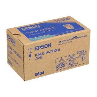 Originálny toner EPSON C13S050604 (Azúrový)