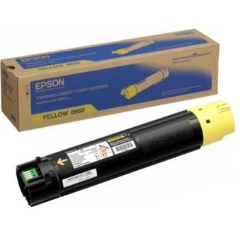Originálny toner EPSON C13S050660 (Žltý)