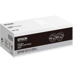 Originálny toner EPSON C13S050710 (Čierny) multipack