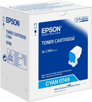 Originálny toner EPSON C13S050749 (Azúrový)