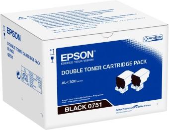 Originálny toner EPSON C13S050751 (Čierny) multipack