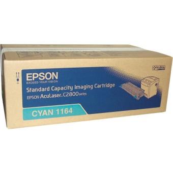 Originálny toner EPSON C13S051164 (Azúrový)