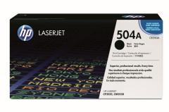 Toner do tiskárny Originálny toner HP 504A, HP CE250A (Čierny)