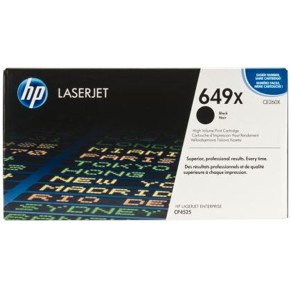 Originálny toner HP 649X, HP CE260X (Čierny)