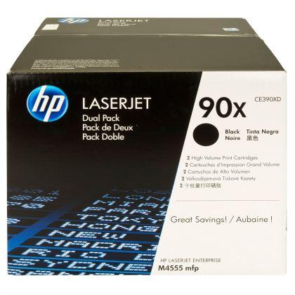 Originálny toner HP 90X, HP CE390XD (Čierny) multipack