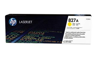 Originálny toner HP 827A, HP CF302A (Žltý)