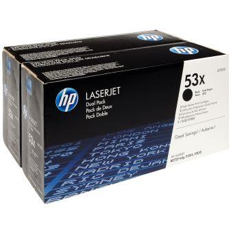 Originálny toner HP 53x, HP Q7553XD (Čierny) multipack