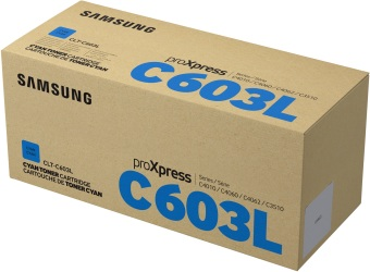Originálny toner Samsung CLT-C603L (Azúrový)