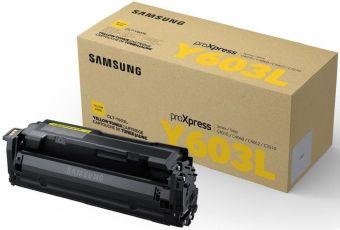 Originálny toner Samsung CLT-Y603L (Žltý)