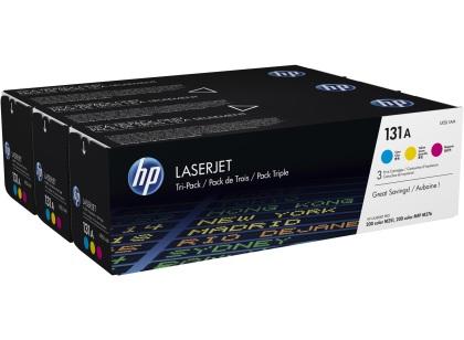 Originálne tonery HP 131A, HP U0SL1AM (Farebné) multipack