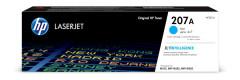 Toner do tiskárny Originálny toner HP 207A, HP W2211A (Azúrový)