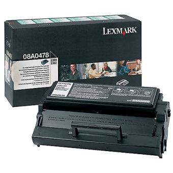 Originálny toner Lexmark 8A0478 (Čierny)