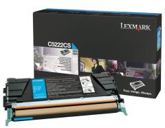 Toner do tiskárny Originálny toner Lexmark C5222CS (Azúrový)