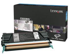 Toner do tiskárny Originálny toner Lexmark C5222KS (Čierny)