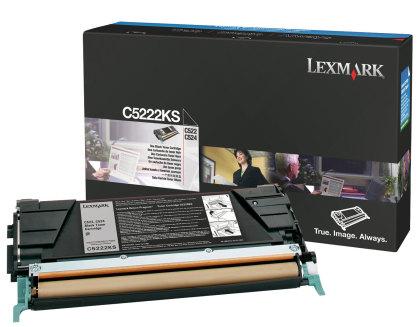Originálny toner Lexmark C5222KS (Čierny)