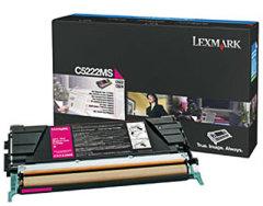 Toner do tiskárny Originálny toner Lexmark C5222MS (Purpurový)