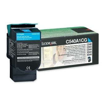 Originálny toner Lexmark C540A1CG (Azúrový)
