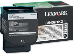 Toner do tiskárny Originálny toner Lexmark C540H1KG (Čierny)