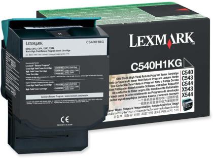 Originálny toner Lexmark C540H1KG (Čierny)