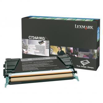 Originálný toner Lexmark C734A1KG (Čierny)