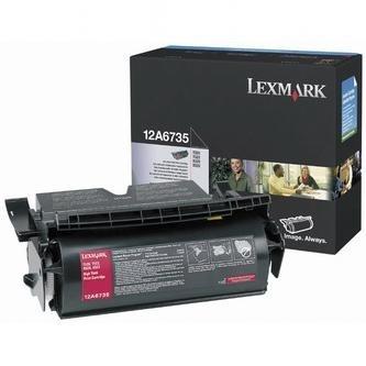 Originálný toner Lexmark 12A6735 (Čierny)