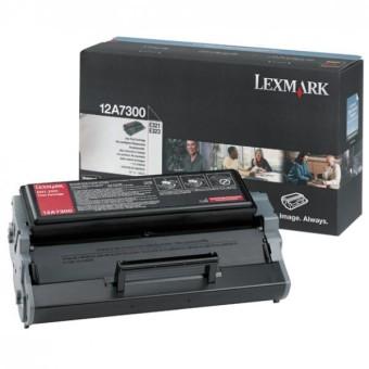 Originálny toner Lexmark 12A7300 (Čierny)