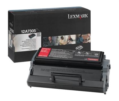 Originálny toner Lexmark 12A7305 (Čierny)