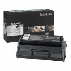 Toner do tiskárny Originálny toner Lexmark 12A7400 (Čierny)