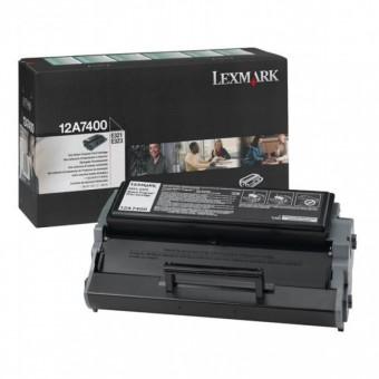 Originálny toner Lexmark 12A7400 (Čierny)