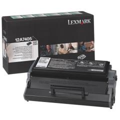 Toner do tiskárny Originálny toner Lexmark 12A7405 (Čierny)