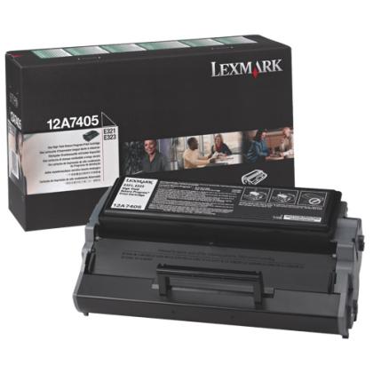 Originálny toner Lexmark 12A7405 (Čierny)