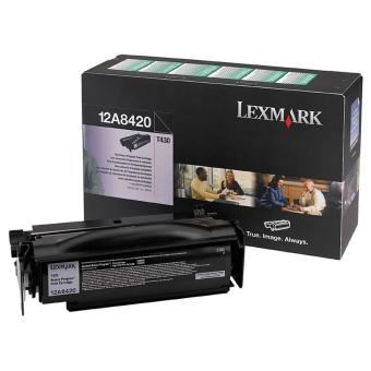 Originálny toner Lexmark 12A8420 (Čierný)