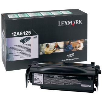 Originálny toner Lexmark 12A8425 (Čierný)