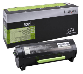 Originálny toner Lexmark 50F2000 (Čierny)