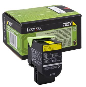 Originálny toner Lexmark 70C20Y0 (Žltý)