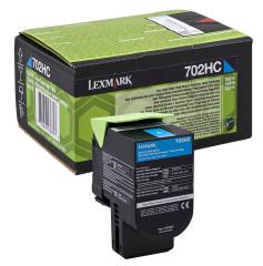 Toner do tiskárny Originálny toner Lexmark 70C2HC0 (Azúrový)