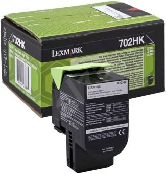 Originálny toner Lexmark 70C2HK0 (Čierny)